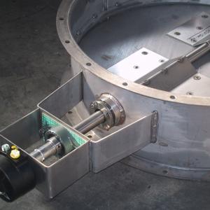 Single-blade valves...